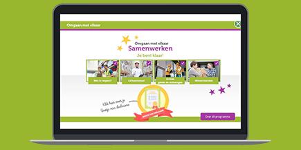Nieuw op de WERK-portal.nl: gratis e-learning Omgaan met elkaar